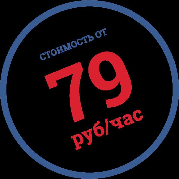 Стоимость от 100 руб/час